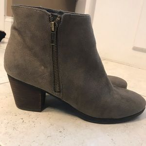 Madeline Shoes - Madeline New Khaki Ankle Boots